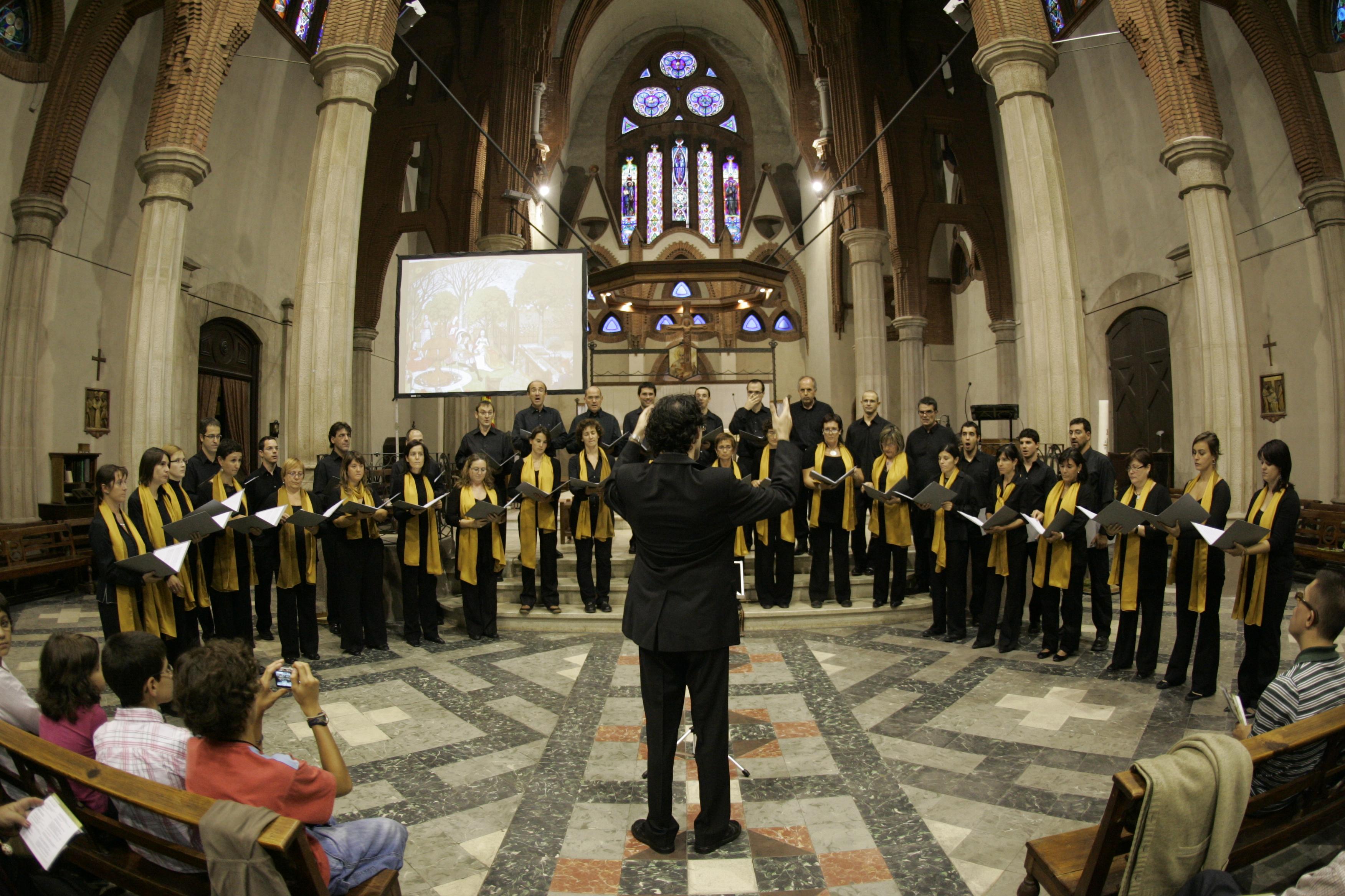 Concert a l'església de Sant Agustí, 28.9.08