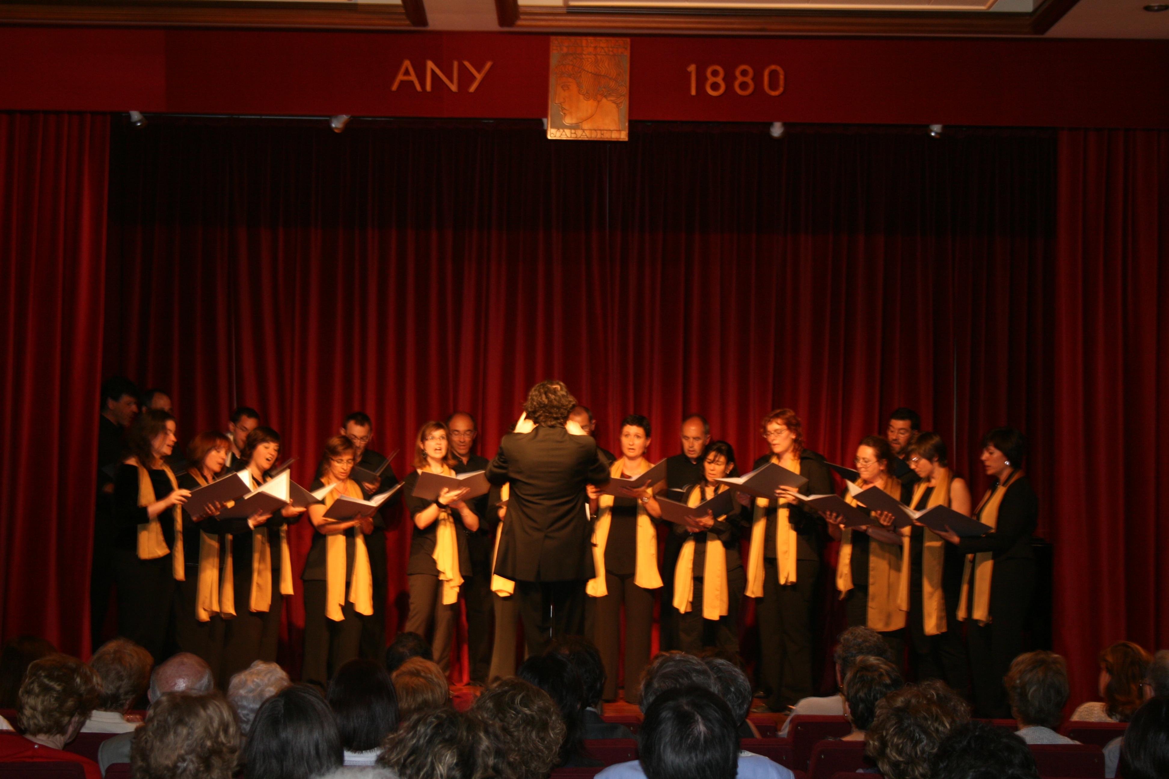 Concert a l'Acadèmia de Belles Arts, el 21.5.09