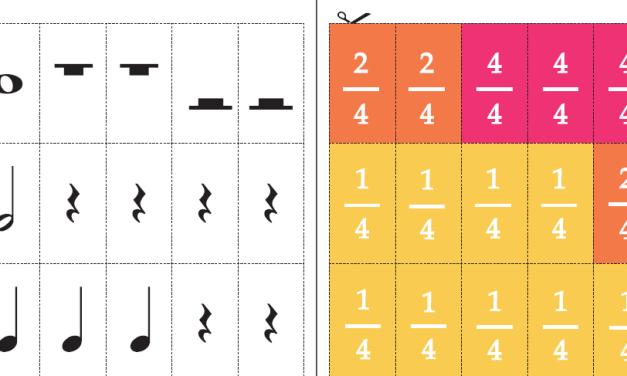 Le carte dei valori musicali