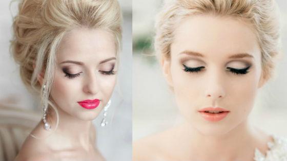 Вечерний и дневной макияж для светловолосых