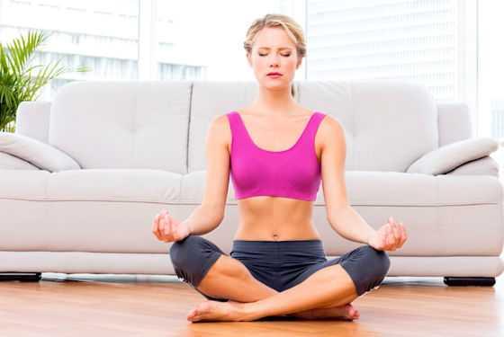 Дыхательные упражнения для плоского живота