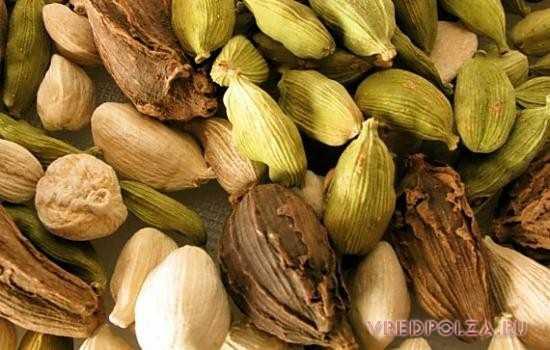 В продаже можно встретить несколько видов кардамона: белый, черный и зеленый