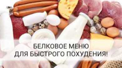 Photo of Белковое меню для похудения на 7 дней