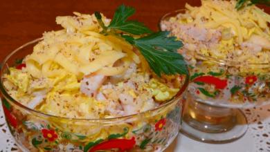 Photo of Изысканный легкий салат «загадка софии» без майонеза