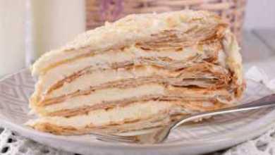 Photo of Самый нежный «Наполеон» из всех опробованных. Необыкновенно вкусный торт