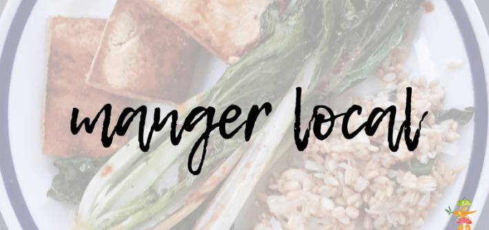 manger local