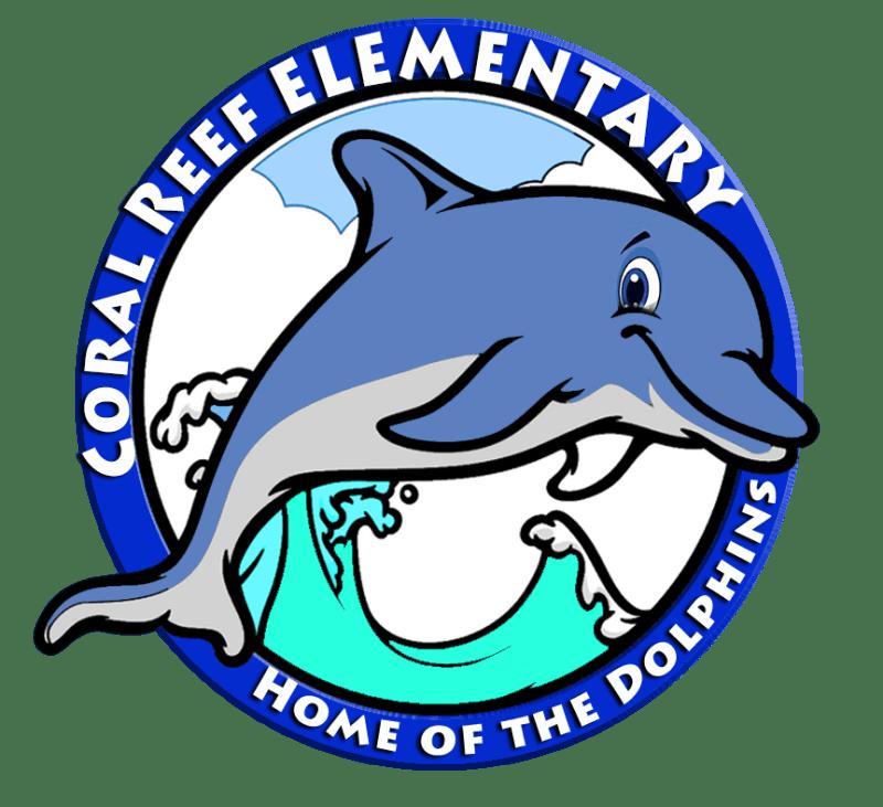 Coral reef Round Logo