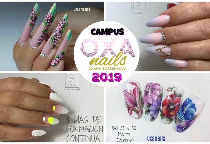 Campus Internacional Oxa Nails 2019 Coralsanails