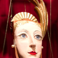 Countess Ukulele Marionette by Pablo D. Cano