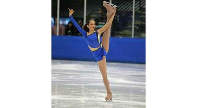 Keep your Eyes Open for Figure Skater Jackie Jablon in Coral Springs