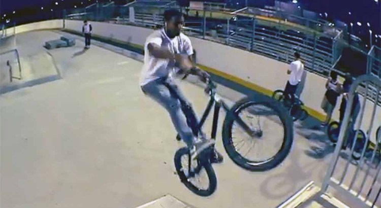 Cool BMX Bike Tricks by Coral Glades High School Student Josh Berrios