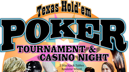 Texas Hold'em Poker Tournament & Casino Night with $25,000 in Prizes