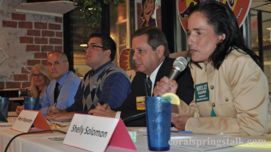 School Board Candidates for Coral Springs and Parkland Hold Forum