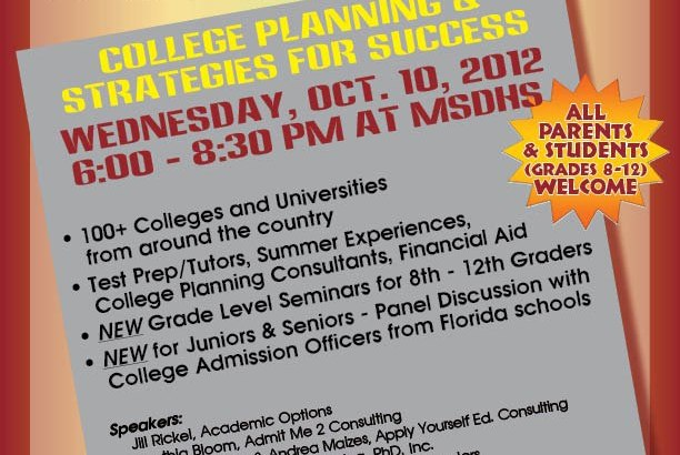 Marjory Stoneman Douglas College Fair Expo October 10