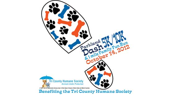 Preregister for the Parkland Dash Fun Run Held in October
