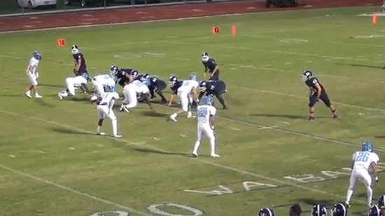 Video: Unusual Football Play Works Against Coral Springs Charter