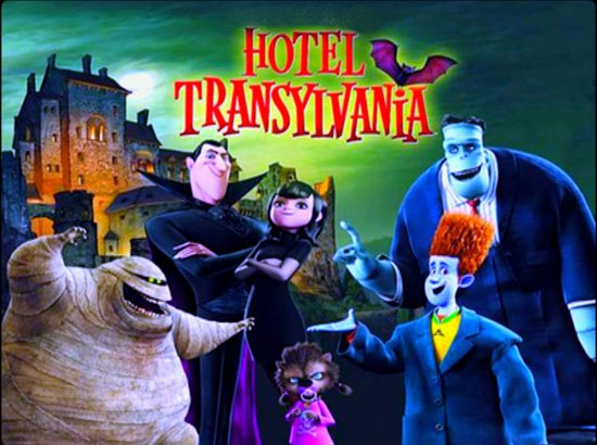 "Free Movie Under the Stars featuring ""Hotel Transylvania"" on Saturday, March 16th"