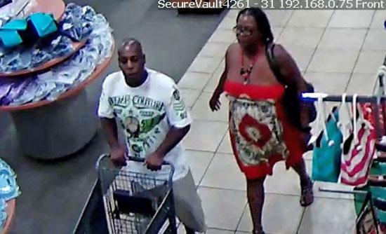 Help Nab These Coral Springs Shoe Thieves