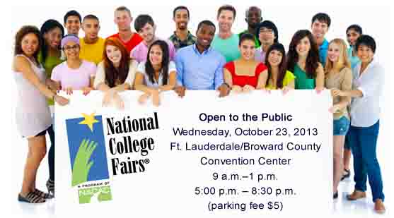 Fort Lauderdale National College Fair Held October 23
