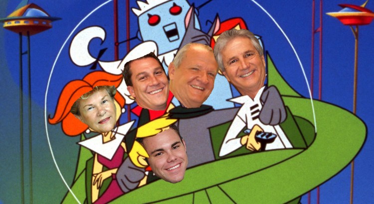 Coral Springs Holiday Parade Headed up by The Jetsons