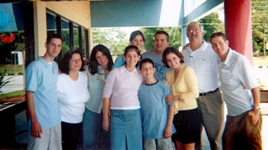 Bob and Christina Levinson and their children  - courtesy of the Levinson Family