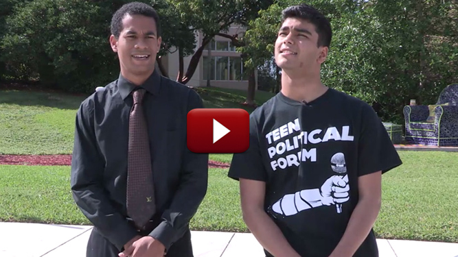 All Students Encouraged to Attend the Annual Teen Political Forum