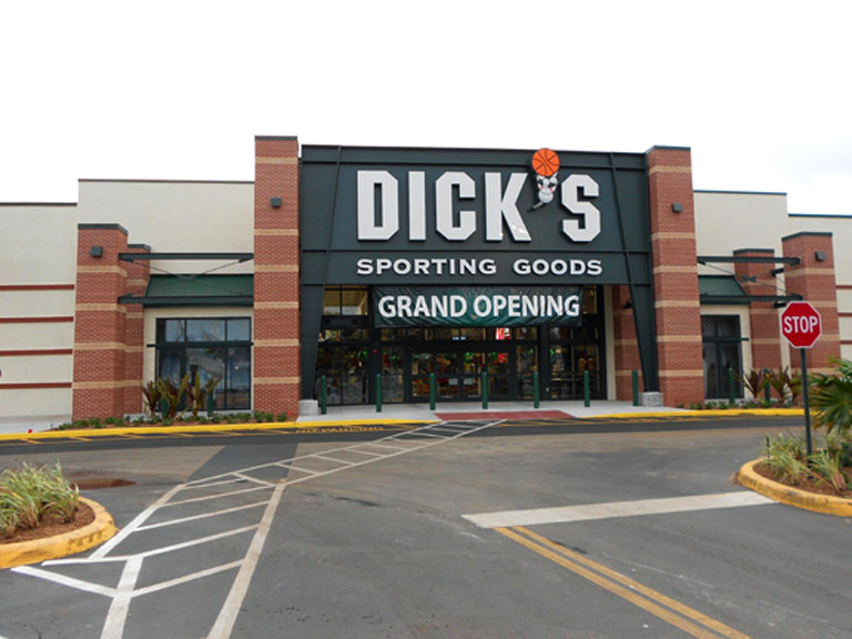 Dick's Sporting Goods Fort Lauderdale location pictured.