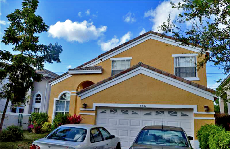 This 3 bedroom home in Coral Springs is listed for $330,00  - Aspect Realty