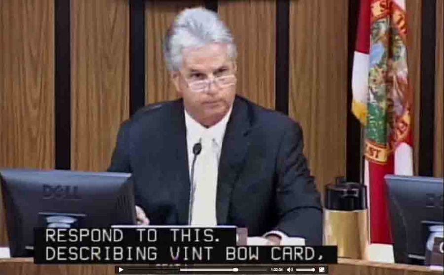 "Boccard at Wednesday night's meeting upset that him and three other commissioners are referred to a ""gang of four."""