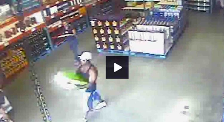 Booze Thief Caught on Surveillance at Wholesale Club
