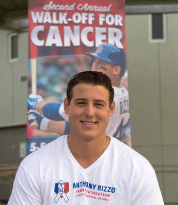 Anthony Rizzo - Photo by Ron Elkman