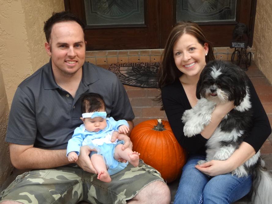 Tommy, Jessica and Mackenzie O'Keefe