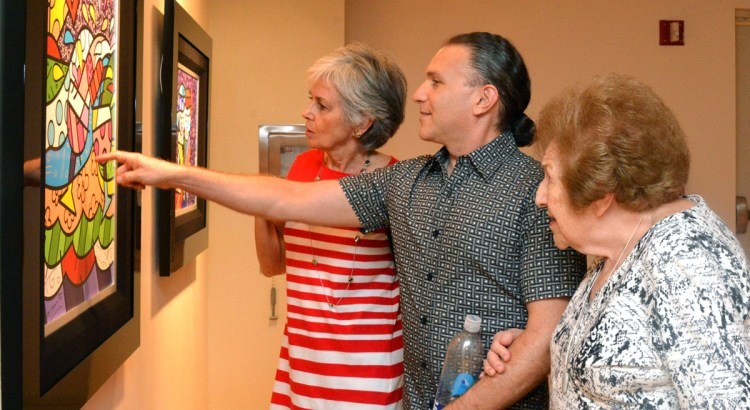 Opening Reception for Romero Britto Held at the Museum of Art