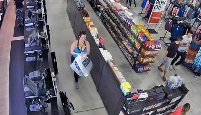 Police are looking for this woman suspected of identity theft in Coral Springs and Boca Raton.