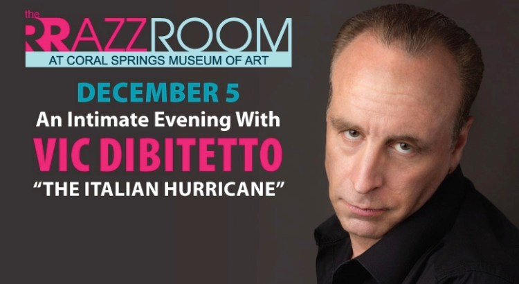 """Tickets Available for An Evening with """"The Italian Hurricane"""" Vic DiBitetto"""