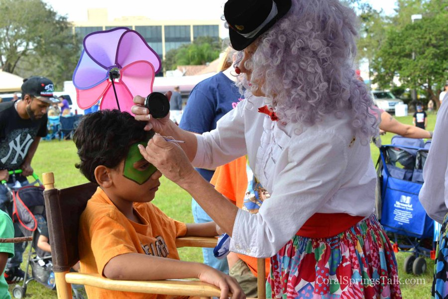 Family Fun Day and Car Show in Coral Springs