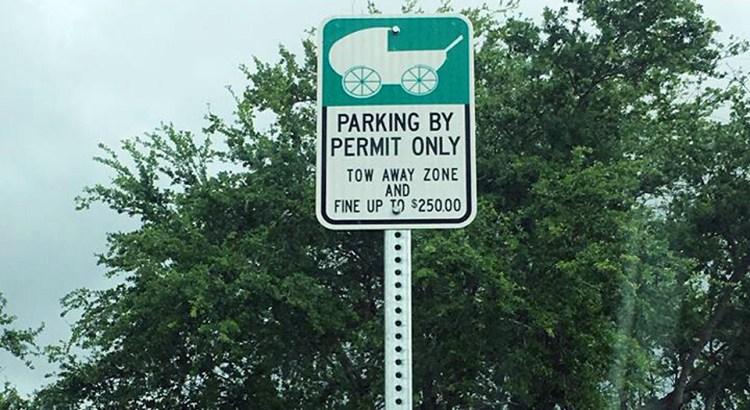 Does Coral Springs Offer Stroller Parking?