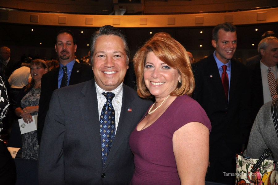 County Commissioners Stacy Ritter and Chip LaMarca