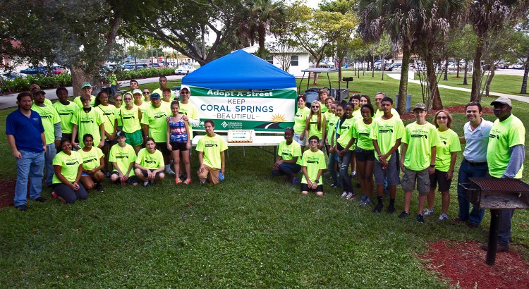 Earn Service Hours: Volunteers Needed to Help Beautify Coral Springs