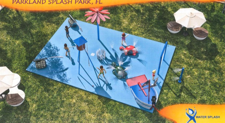 Parkland Set to Open Splash Park This Summer