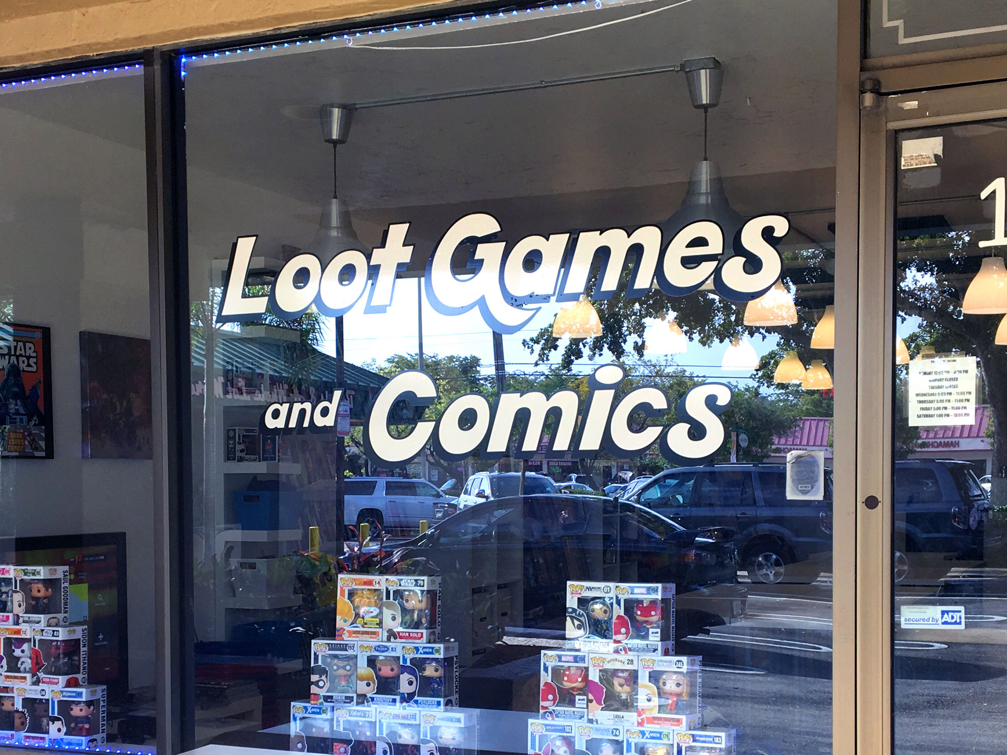 Local store to give out free comic books