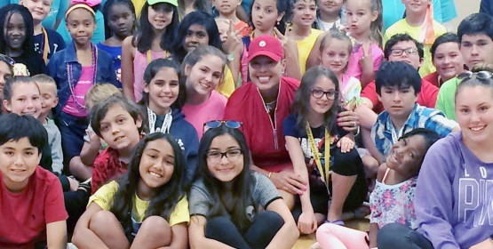 Camp for Children with Diabetes Receives Donation From Pro Golfer