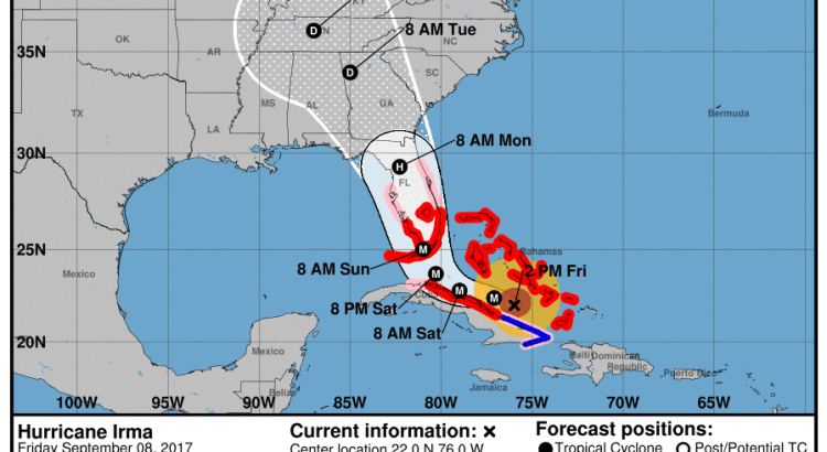 Hurricane Irma: Be Prepared with these Tips on Weathering this Storm