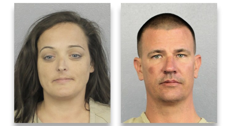Couple Arrested For Stealing Teddy Bears, Plaques, From Parkland Memorial