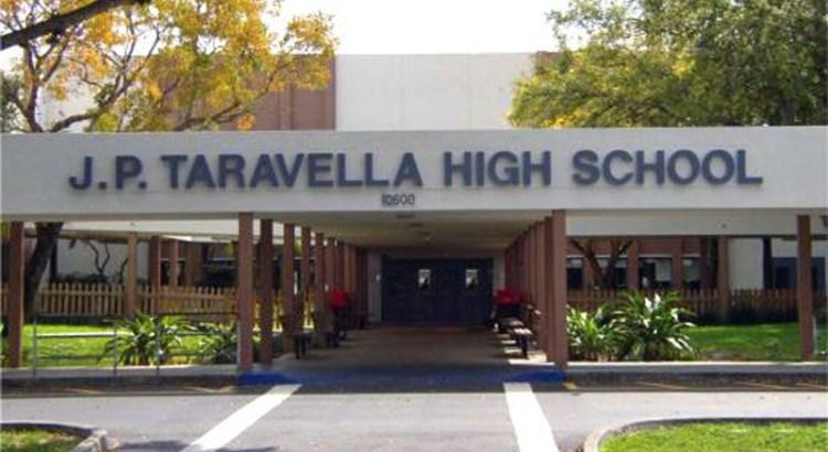 "Juvenile Arrested After Threatening to ""Shoot Up"" JP Taravella High School"