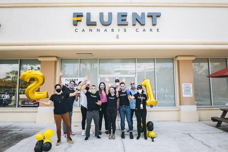 New Coral Springs location for Medical Marijuana Dispensary Fluent. {courtesy}