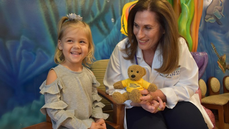 Dr. Nirit Swerdloff Discusses What Working a Day in the Pediatric ER of Broward Health Coral Springs is Like