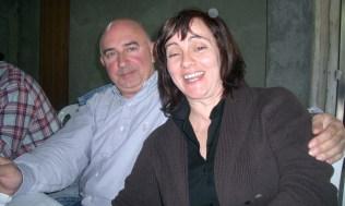 Ana Rosa y su marido Toñín.