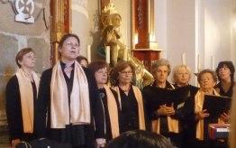 Marta, solista del Hallelujah.