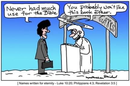 Doug Michael's Cartoon